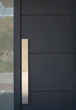 Installation porte d'entrée